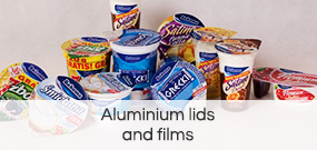 Aluminium lids and films