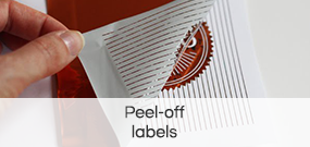 Peel- off- labels